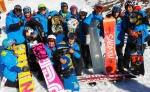 MÁS ÉXITOS PARA LOS SNOWBOARDERS DEL CAEI EN LA 3ª PRUEBA DEL CIRCUITO MINIFREESTYLER DEL PIRINEO