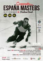 Campeonatos España Master 20, 21 y 23 de Marzo 2015