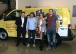 Esteban Fernandez, Josep Mª Bargalló, Blanca Tasias y Edu Puente
