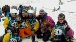 El equipo de Snowboard en Ordino