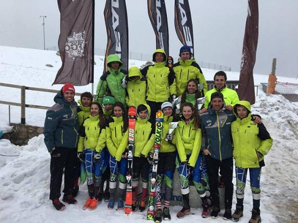 Cuatro pódiums para los U16 del CAEI en el 9º Trofeu Infantil La Molina