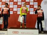 Alex, Max y Octavi en podium