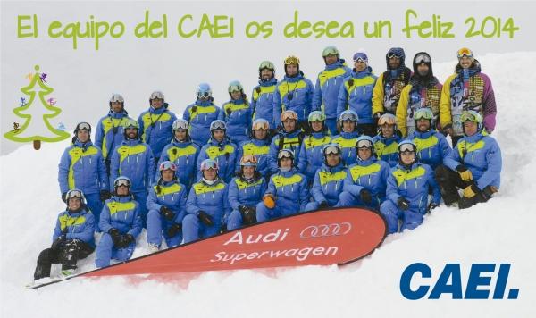El equipo del CAEI os desea un feliz 2014