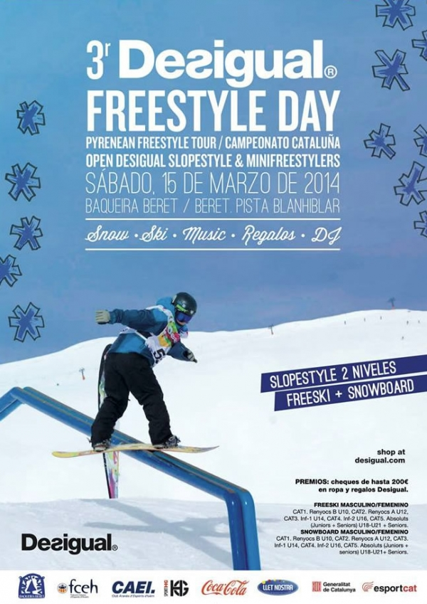 3r. Desigual Freestyle Day