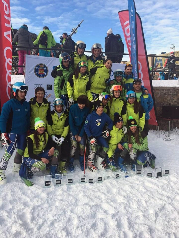 15 PODIUMS PARA EL CAEI EN LA 1ª FASE COPA ESPAÑA DE LOS U14 / U16