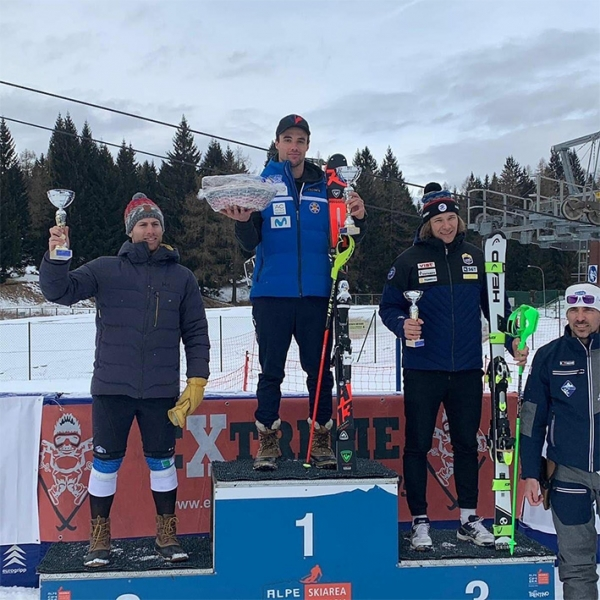 Alex Puente Vencedor del SL FIS GPI en Folgaria (ITA)