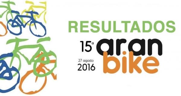 Resultados Aranbike 2016