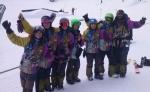 EL EQUIPO DE SNOWBOARD DEL CAEI CONSIGUE 4 PÓDIUMS EN LA MARMOTA MINIFREESTYLER 2015
