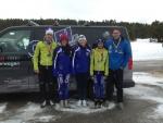 Excelentes resultados de los esquiadores del CAEI en los Ctos. de Catalunya esquí de fondo