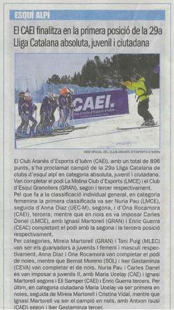 Sport - 11 de Abril 2012