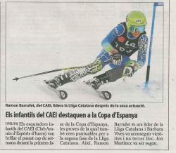 Els infantils del CAEI destaquen a la Copa d'Espanya