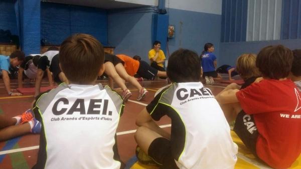 EL EQUIPO DE COMPETICION DEL CAEI INICIA LA TEMPORADA 2015-16