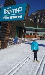 Gran resultado de Marta Moreno en el 33º Trofeo Topolino de Esquí de Fondo