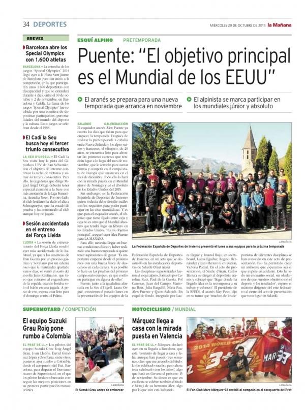 La Mañana, 29 de Oct. 2014