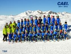 Presentación del Equipo de Competición alpino CAEI 2012